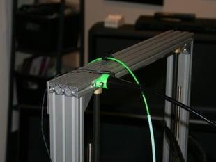 JANSJÖ LED work lamp Mount t-slot