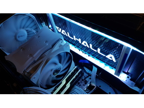 Thermaltake Core V21 LED Sign mod