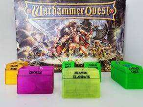 Monster Bins for Warhammer Quest