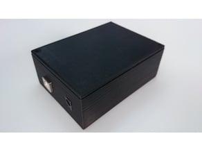 Box Arduino Uno and Sensor ultrasonic HC-SR04