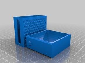 Small Organizer with Sliding Lid (Parametric)