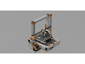 Alu 3D Printer for 220 x 220 Heatbed like the A8