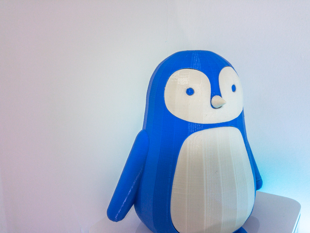3D printed Penguin Candle Holder