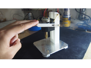 Mini pcb drill press