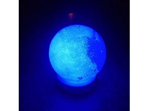 Glowing Moon with Base