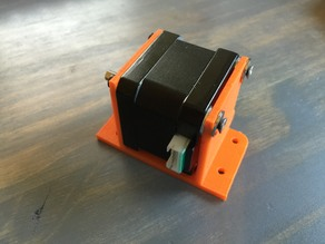 Wanhao Duplicator y-axis NEMA motor mount