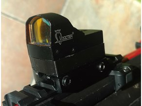 Docter red dot mount raiser for airsoft