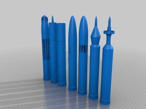 M-30 130mm MK.3A2 gun CORE ammunition