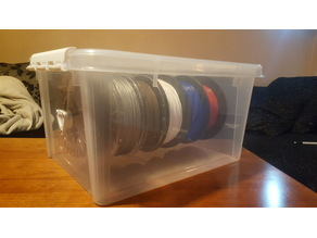 Filament storage solution (SmartStorage, Rusta, ICA)