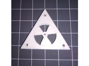 Rotating Nuclear Keyring (Print in place)