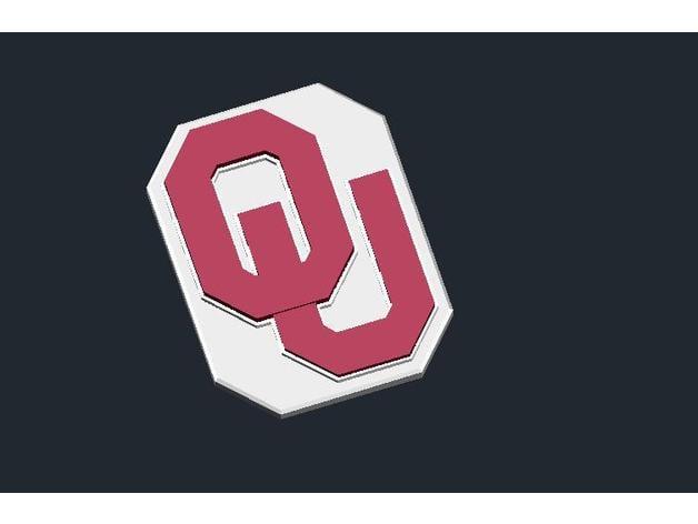Oklahoma Sooners Logo By Csdsalzburg Thingiverse