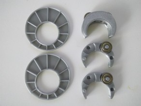 Creality Ender-2 Ball bearings filament roll support