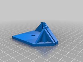 Support 2mm Plexiglass / IKEA LACK Table