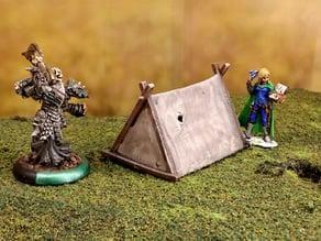 Fantasy viking tent 28mm