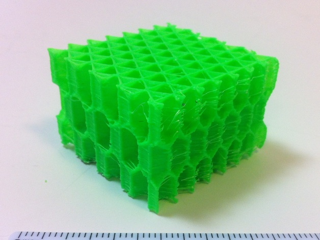 Concept 2 Model D >> 3D Honeycomb Infill concept by MechEngineerMike - Thingiverse