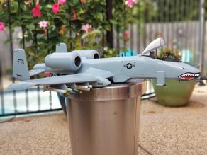 A-10 Warthog 1/16th Scale Snap Together Model