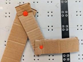 Cardboard Rivets