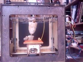 Makerbot Bre Pettis Rod Puppet