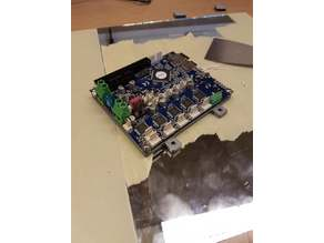 Duet 2 mounting plate
