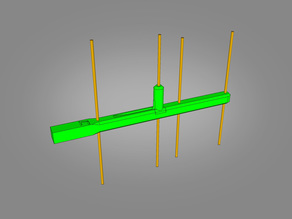Yagi Antenna 1.2-1.3GHz 4 Element
