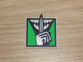 Caveira Emblem Logo (Rainbow Six Siege)