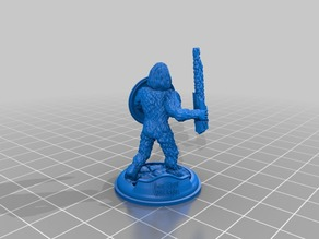 Sasquatch 28mm Minature