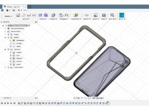 iPhone XS Max PLA Bumper -remix from Adafruit