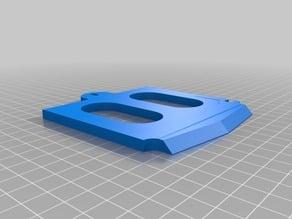 Lulzbot taz 5 custom print-head plate