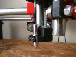 -old- Mostly Printed CNC -Add On- Drag knife/Pen mount