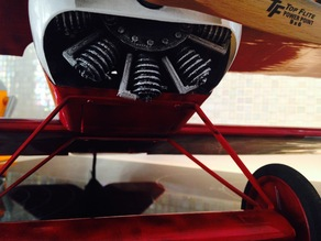 Le Rhone 9 cilinder engine for Fokker DR I from Electifly