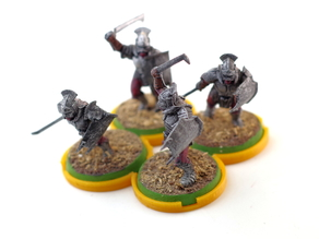 Movement tray, Lotr, 4x25mm bases