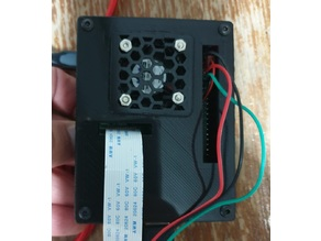 Raspberry Pi 3B+ Case w/Fan and opennings