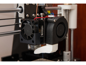 Anet A8, easy removable extruder cooling fan