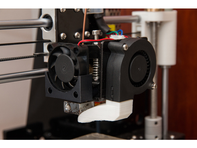 3d Printer Filament >> Anet A8, easy removable extruder cooling fan by 85holmberg ...