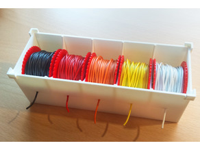 Wire Dispenser - Easy and Stackable - Organizer