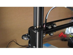 CR-10 Dual Z axis with single stepper. Low cost high precision.