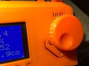 New LCD Knob
