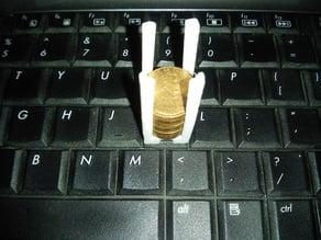 Keyboard weight