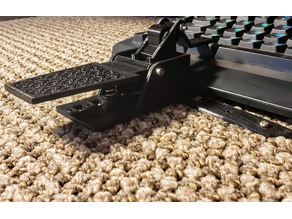Keyboard foot pedal (bottom row)