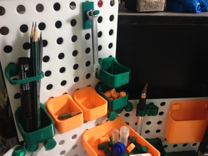 Small drawer mede to fit with V3D pegboard organizer system