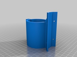 52mm Router Holder for Universal Mount (MPCNC)