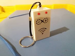 ESP8266 (arduino nodemcu) keychain