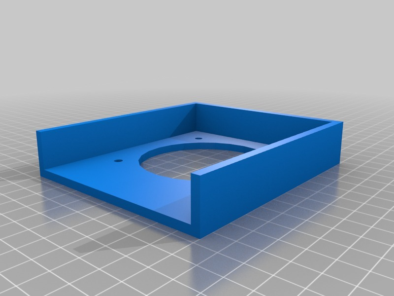 LulzBot Taz 4 power supply PC cooling fan adapter by