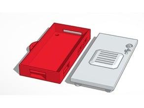 Mountable Raspberry Pi Zero W Case