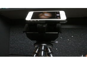 iPhone Mount For a Microscope!