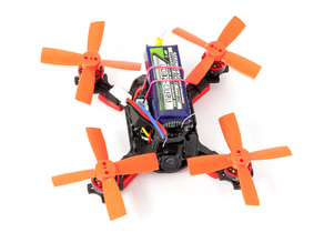 UNBREAKABLE!!!! Kingkong Q90 90mm tpu cover 57gram take-off weight! For 2S Brushless FPV racing quad.