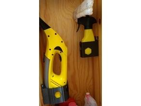 Holder for kärcher WV-50 window vacuum; Halter für Kärcher WV-50 Fenstersauger