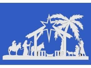 Christmas Nativity Plaque