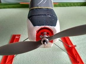 Minimag Multiplex motor holder two degrees down