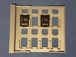 SD Card Storage Jewel Case Insert